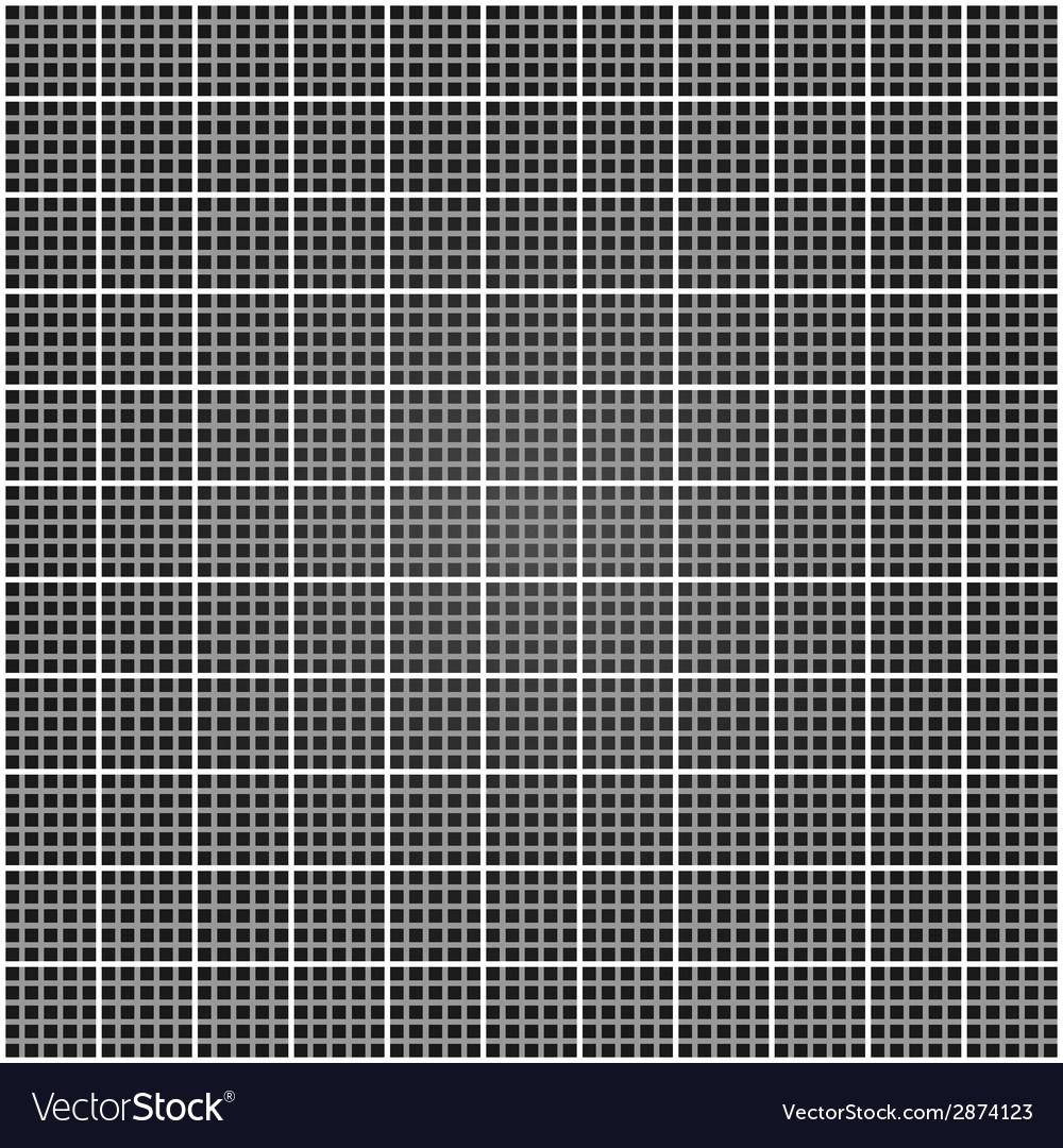 Metal lattice Square grid vector image
