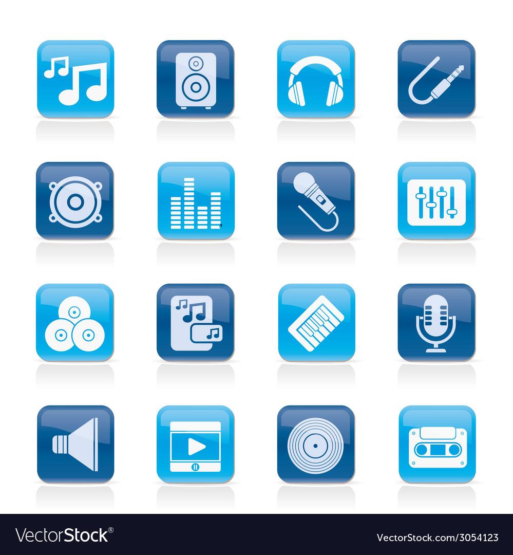 Sound and audio icons
