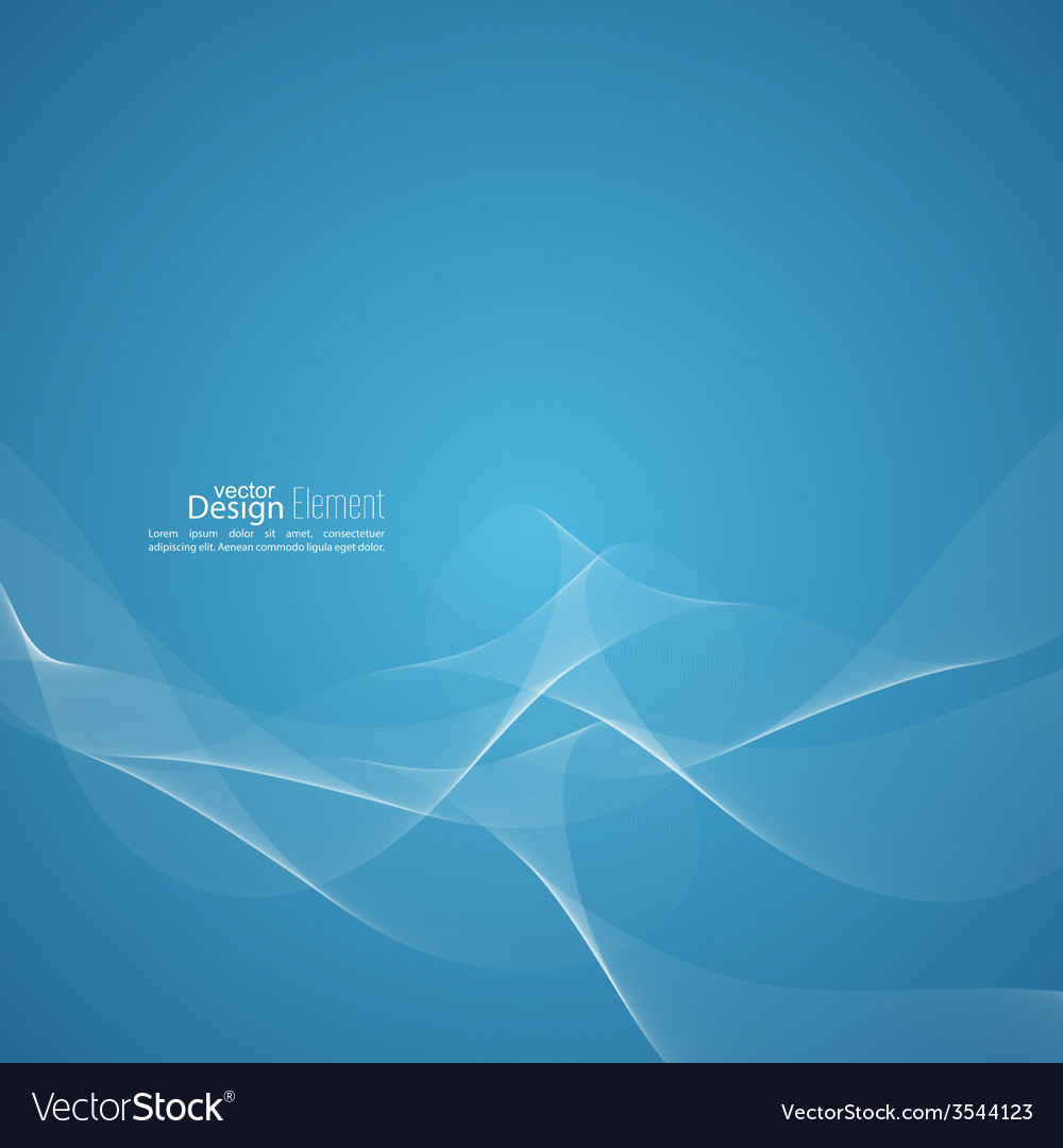 techno abstract background with soft lines vector image