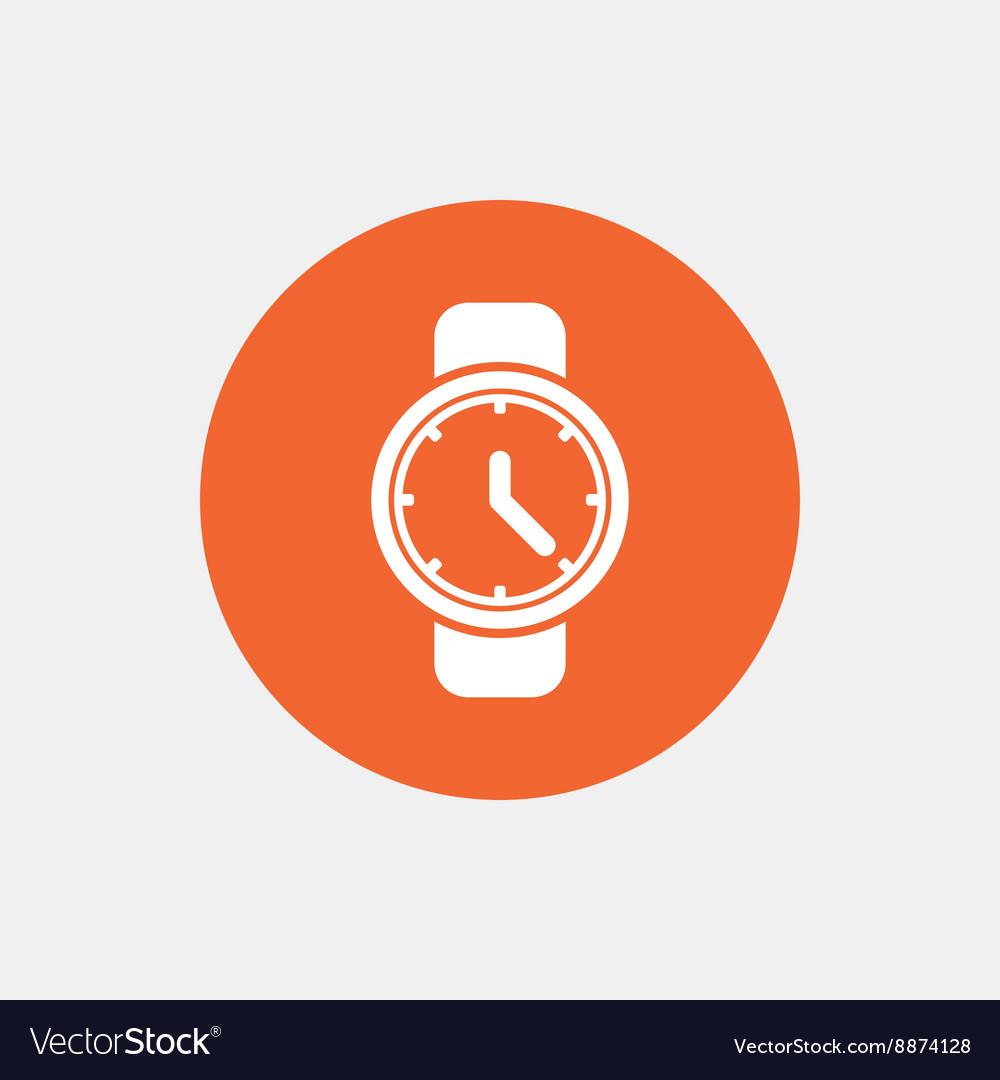 Wrist Watch Sign Icon Mechanical Clock Symbol Vector Image