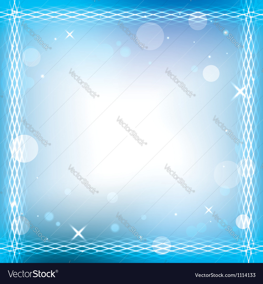 Abstract background with decorative frame - eps 10
