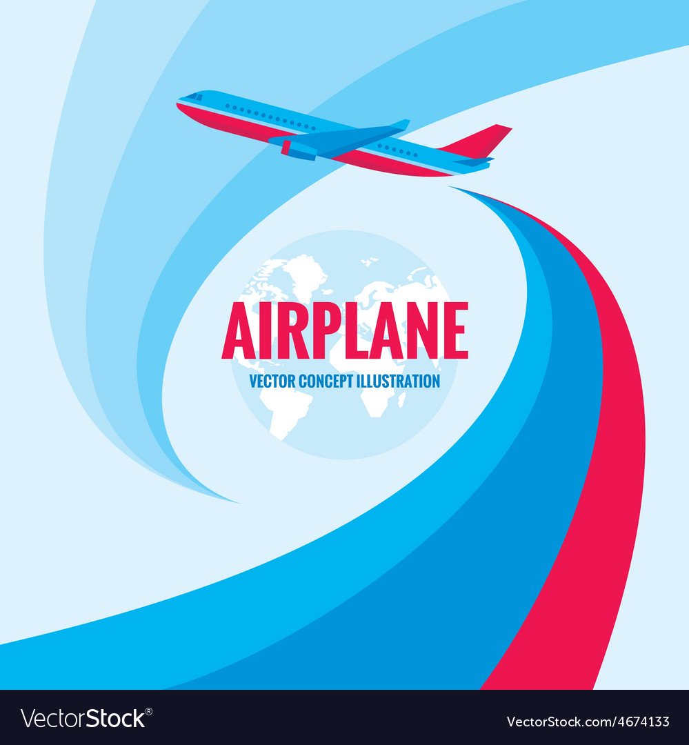 Airplane - concept