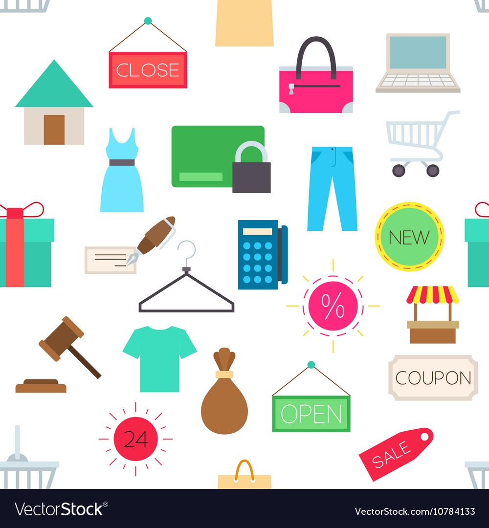 Sales pattern stickers