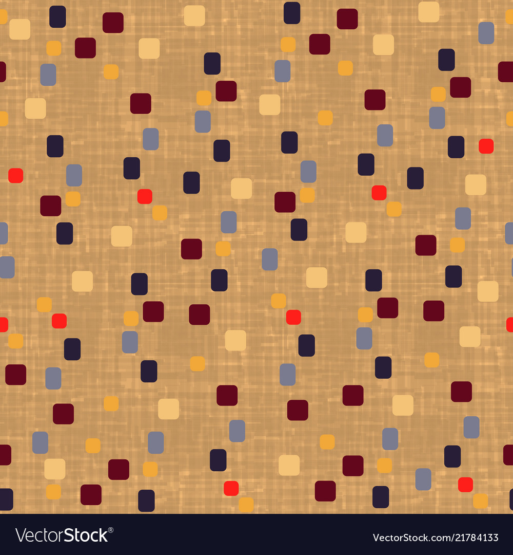 Seamless wall-paper template with geometric