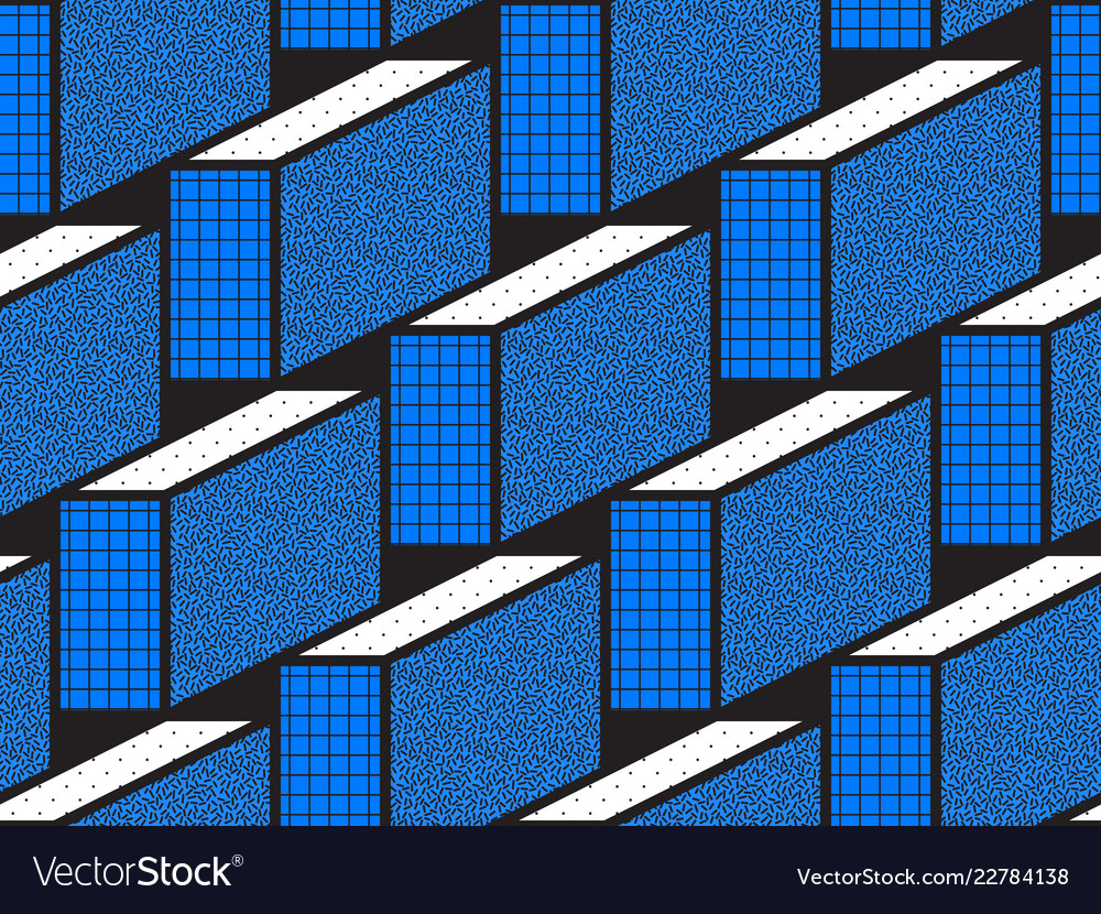 Geometric seamless patterns with textured