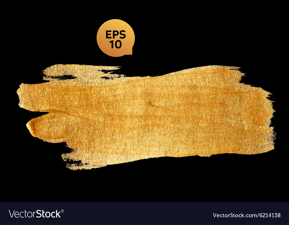 Gold watercolor texture paint stain abstract