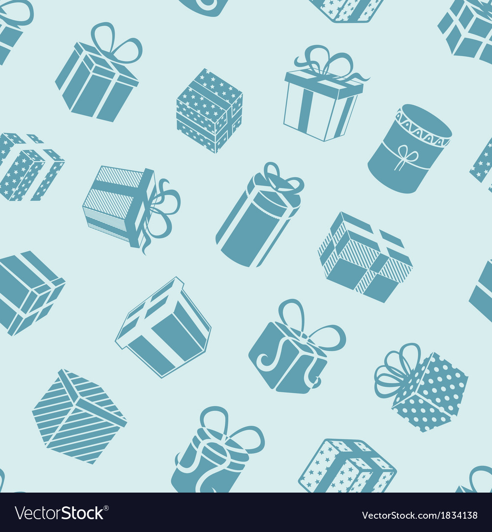 Silhouette gifts pattern
