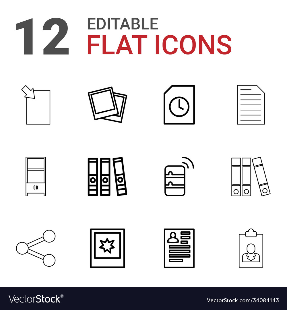 12 file icons