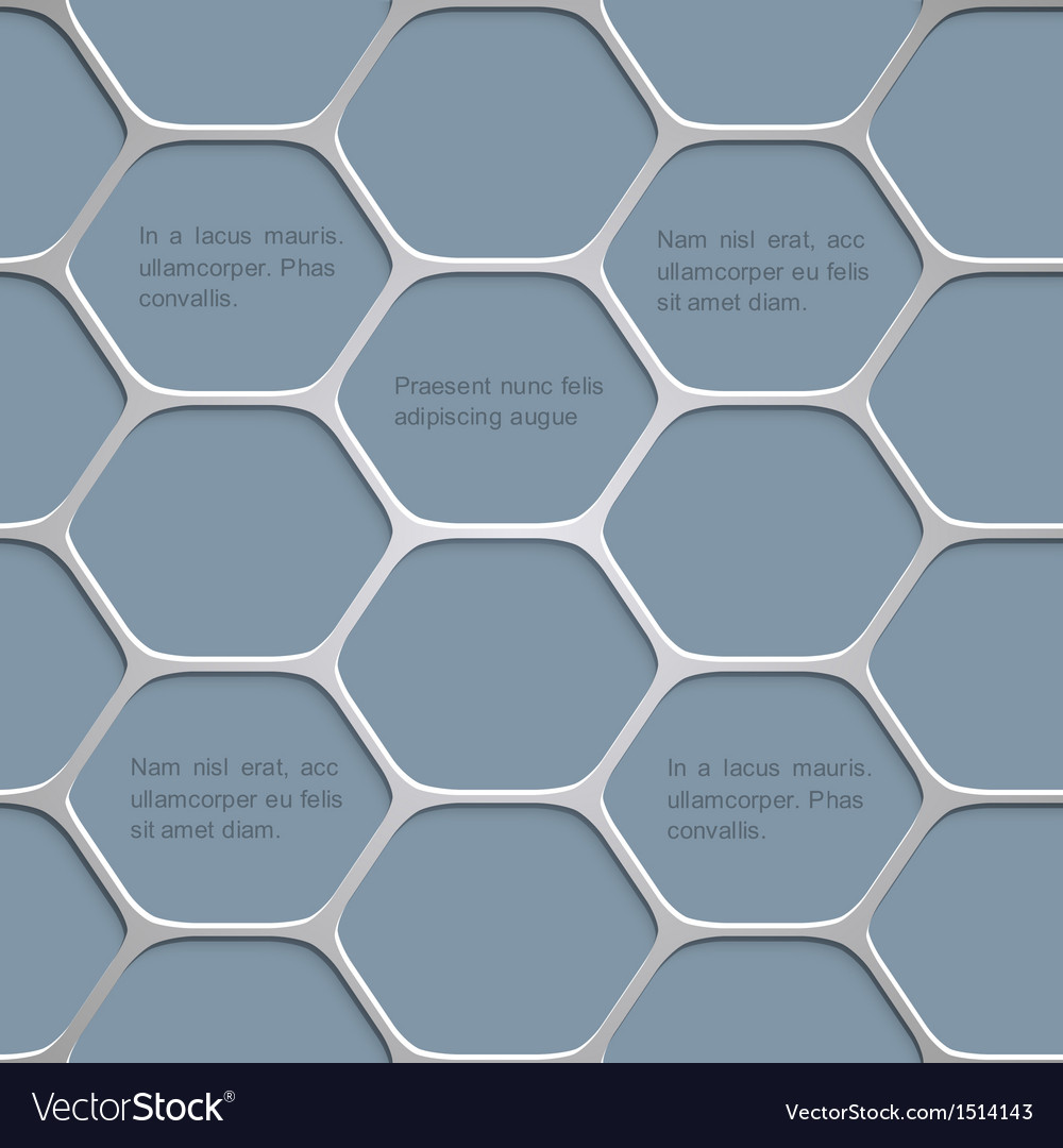 Abstract honeycomb pattern background