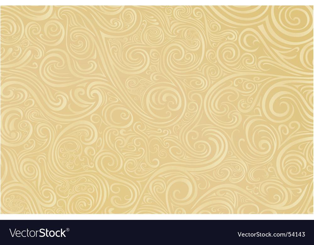 Tan scroll work