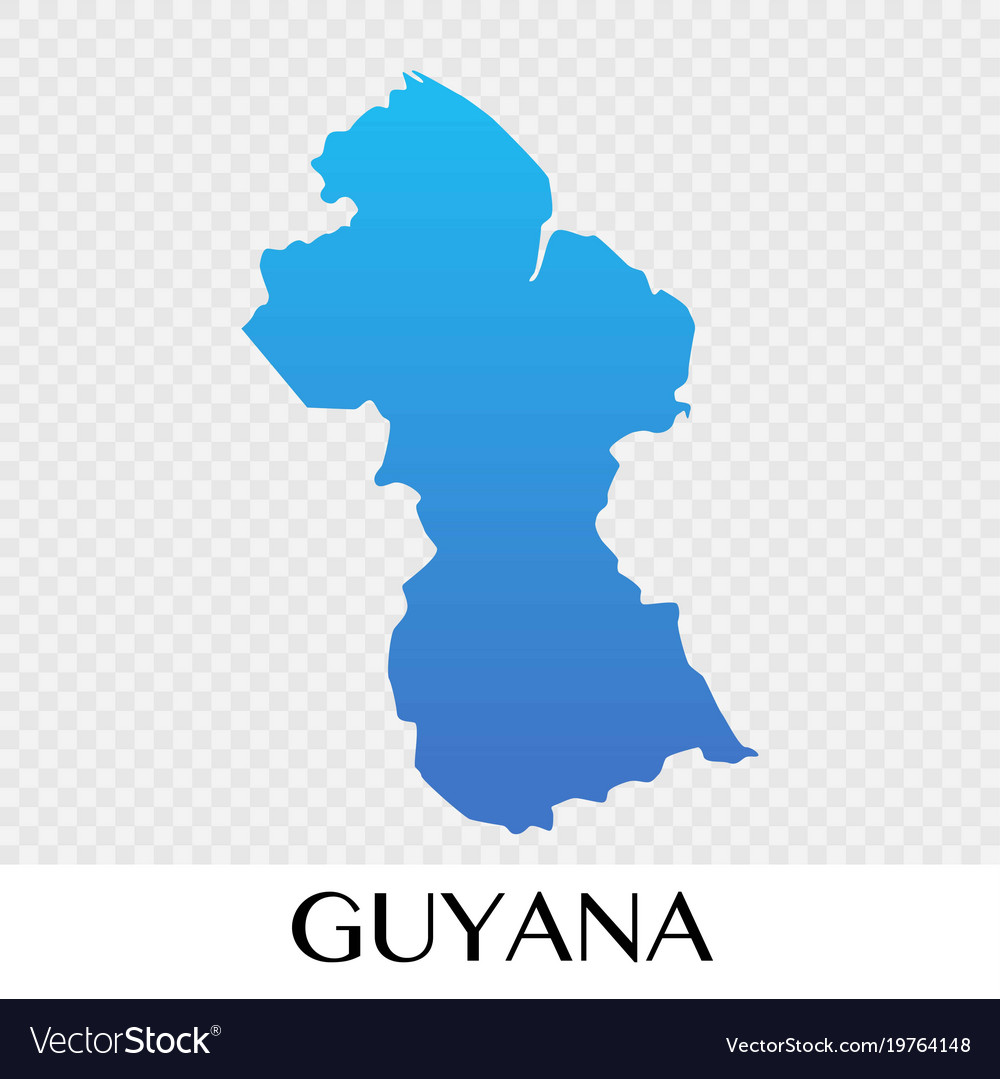 Guyana map in south america continent design vector image gumiabroncs Choice Image