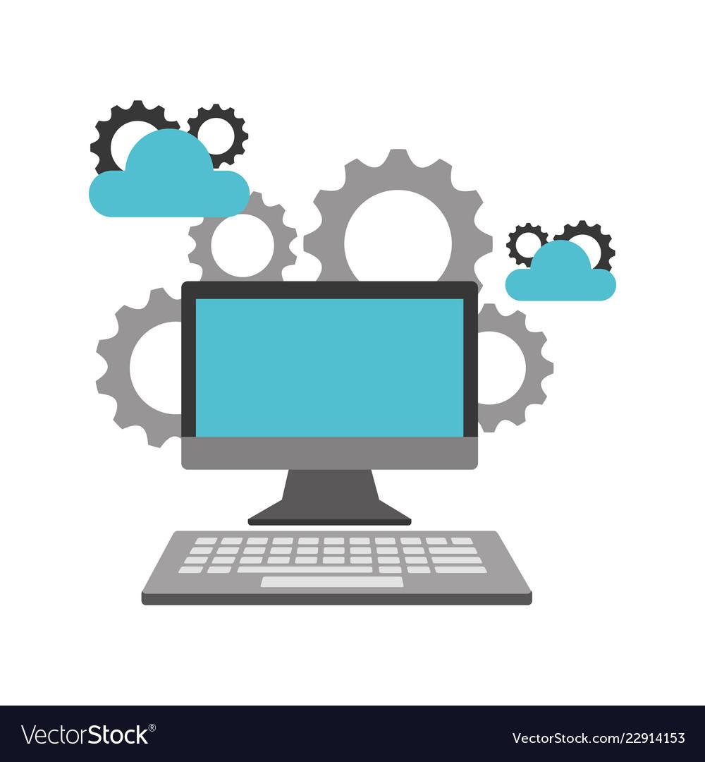 Computer device cloud storage gears