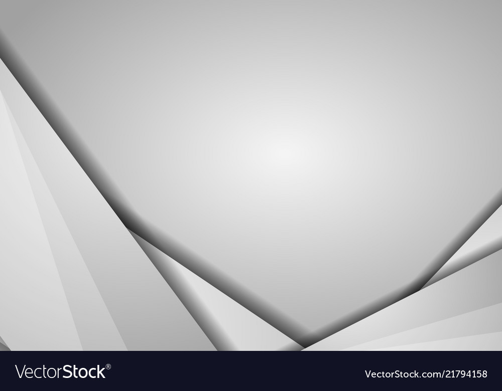 Abstract geometric white and gray color