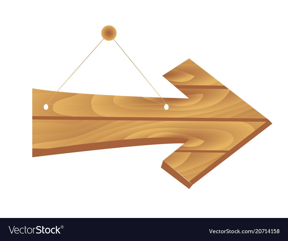 Cartoon brown wooden plates
