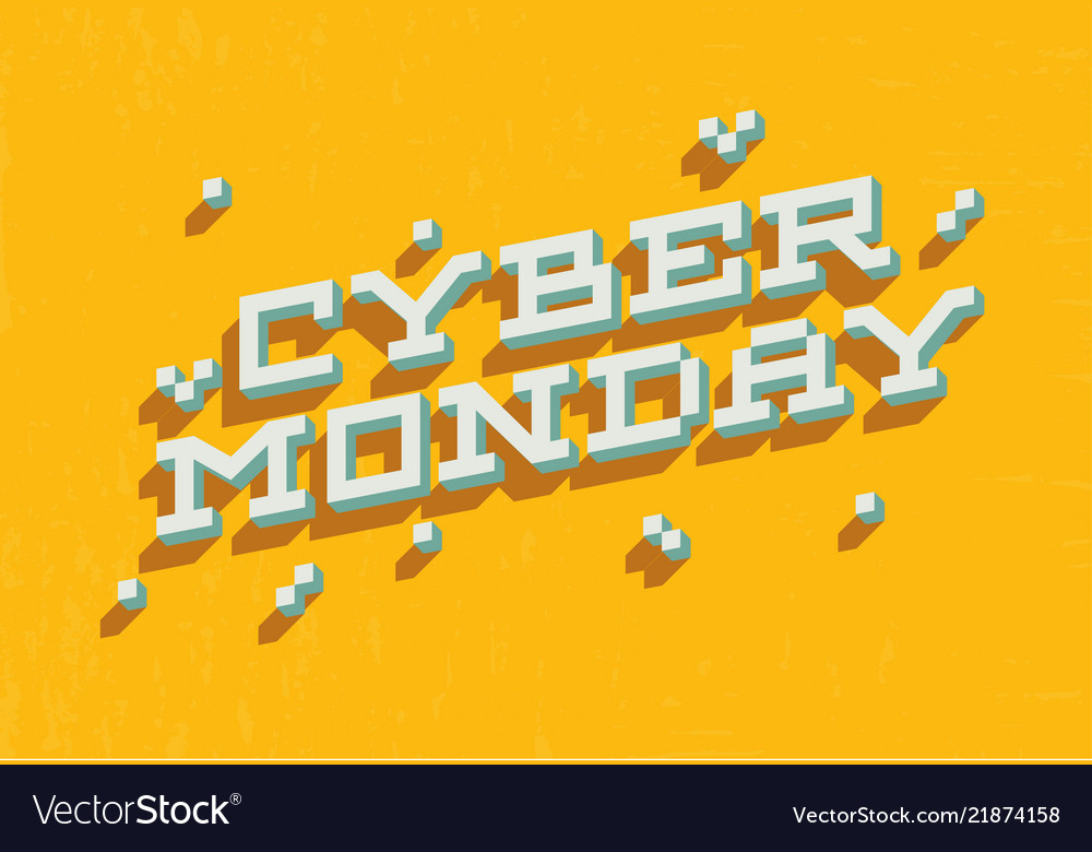 Cyber monday sale promo banner