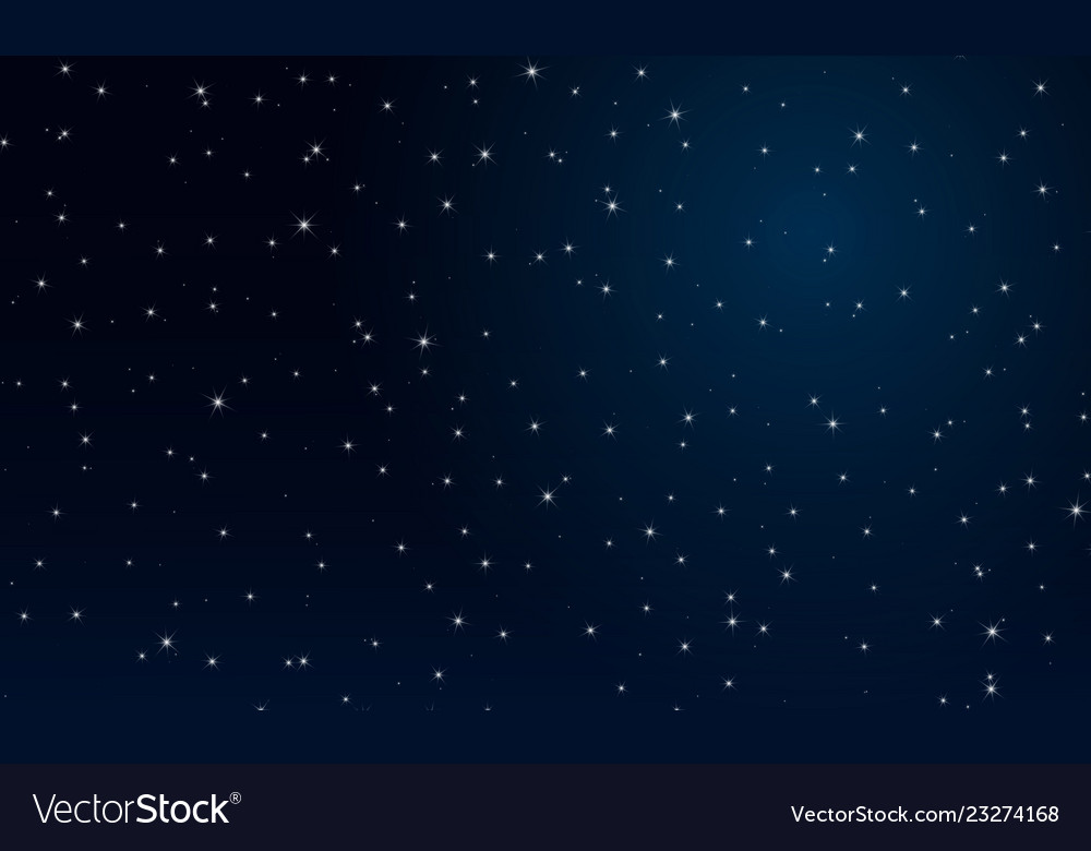 Abctract night the starry sky