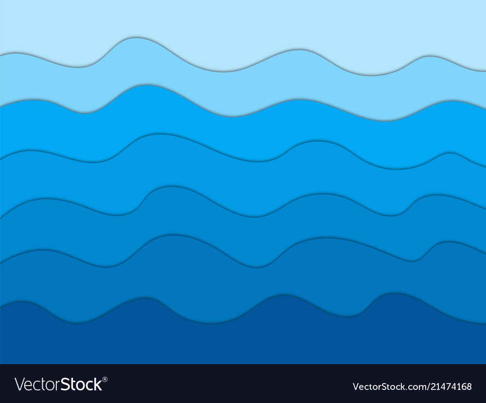 Abstract blue waves background for designpaper