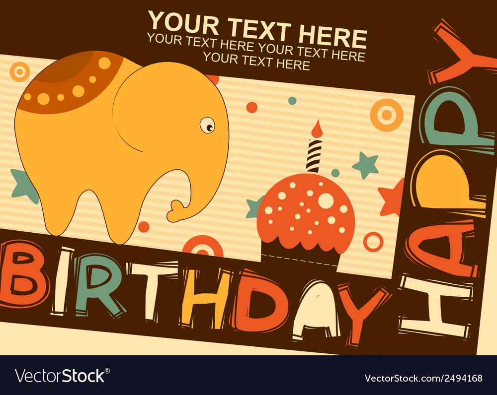 Baelephant birthday