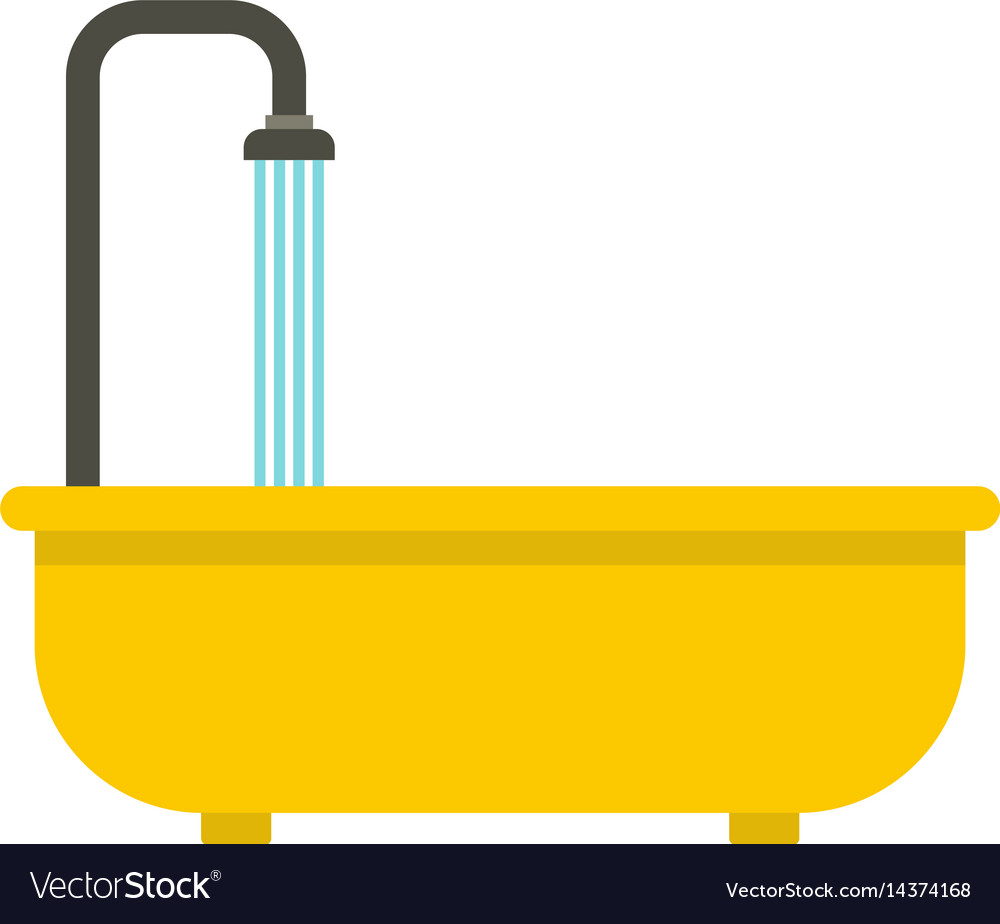 Bathroom icon isolated vector image