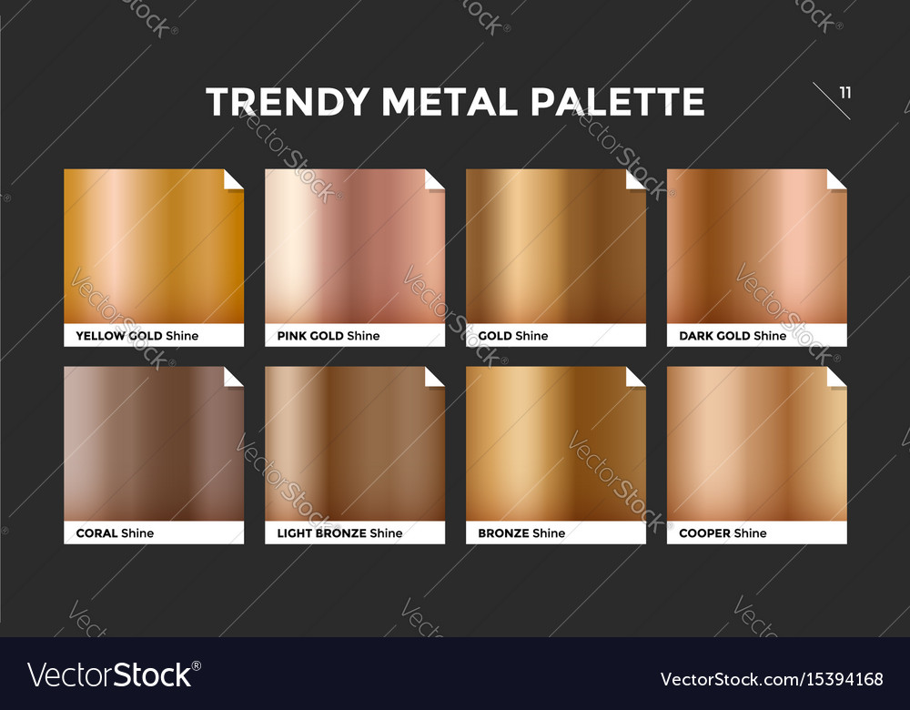 Rose gold gradient template icon