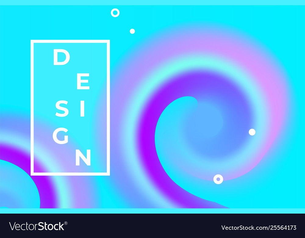 Abstract liquid background design color