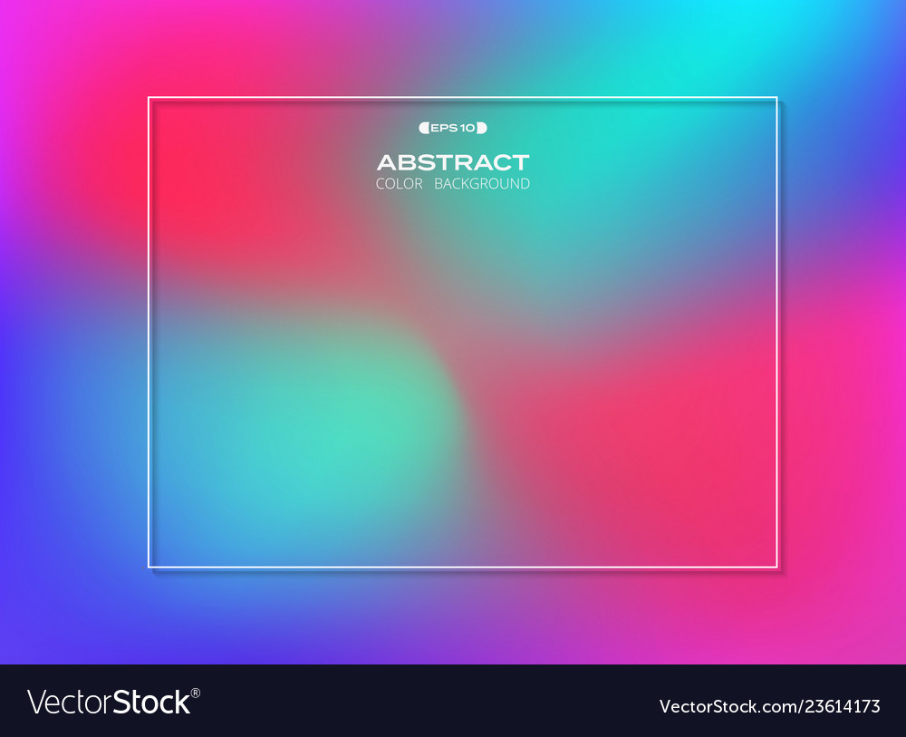 Abstract of gradient colorful background