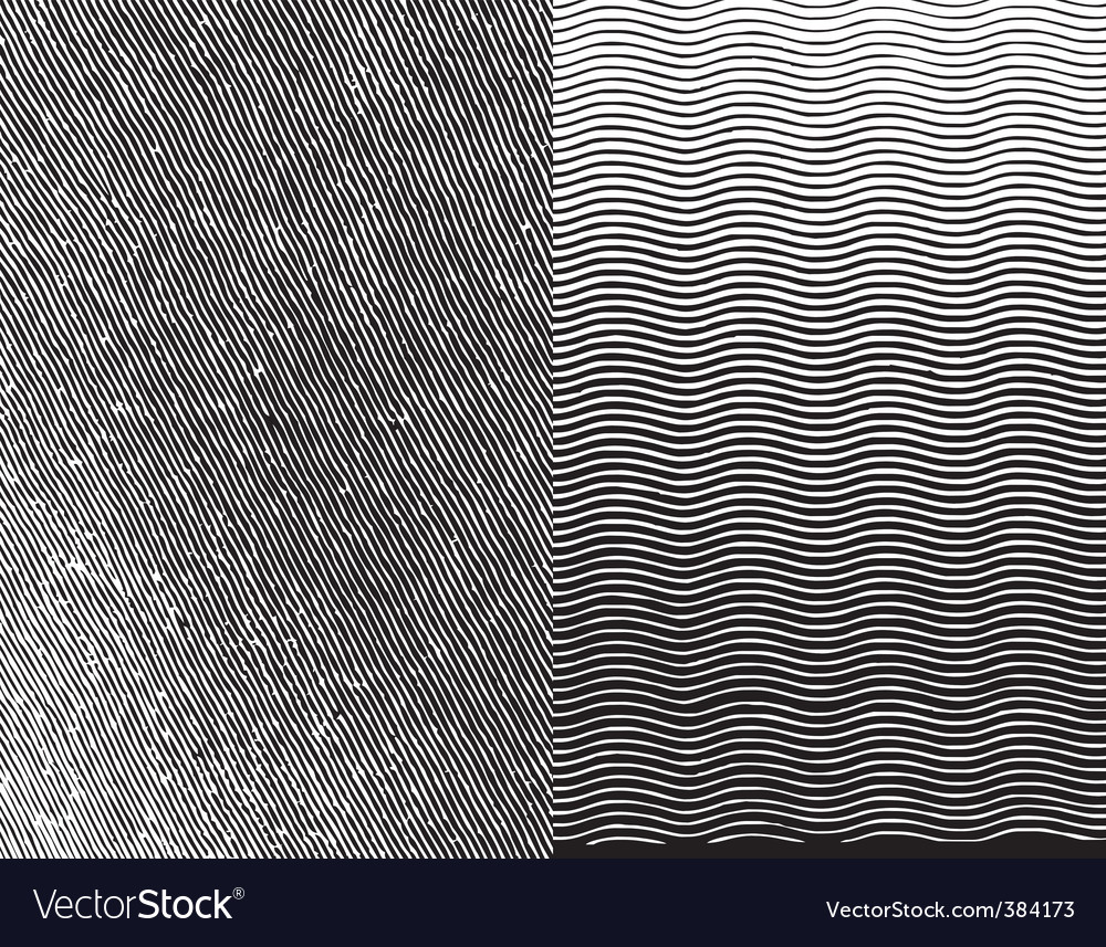 Engraving texture vector image