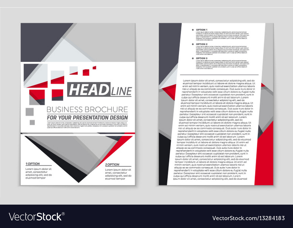 abstract layout background set for art royalty free vector