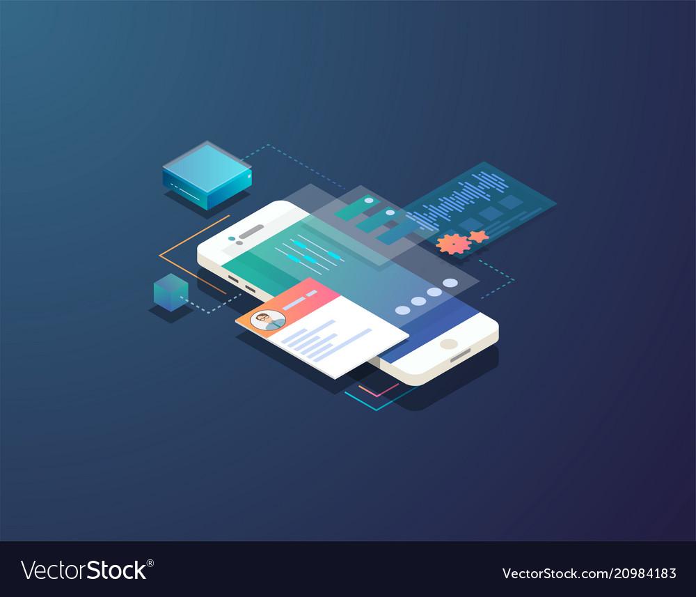 Isometric mobile development