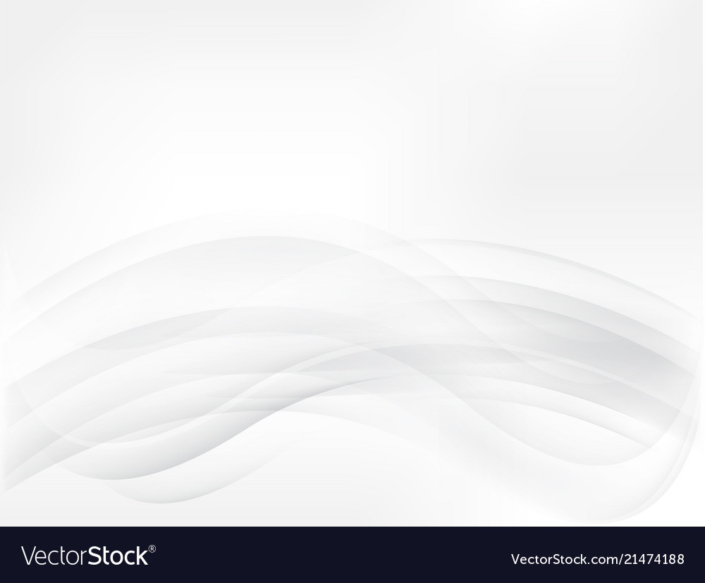 Abstract smooth gray background waves