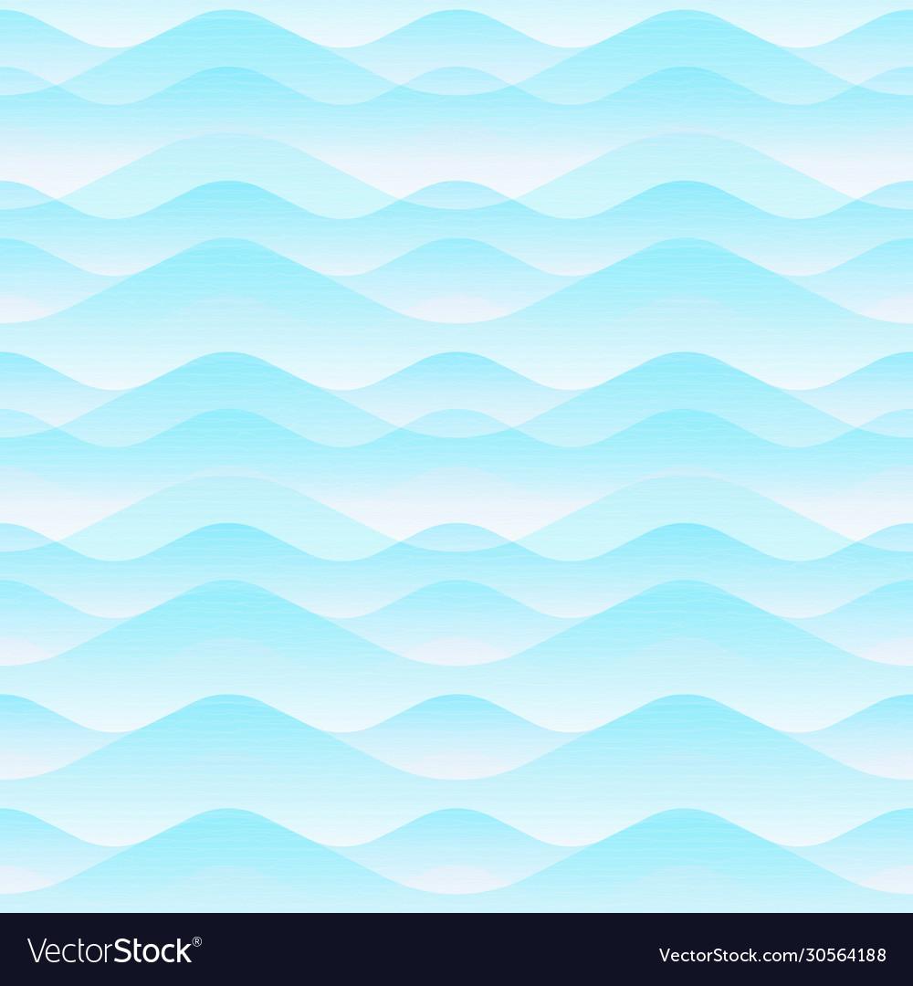 Air wave seamless pattern