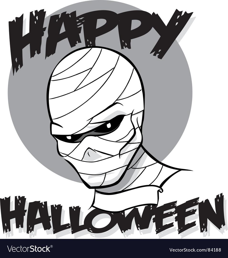 Halloween mummy
