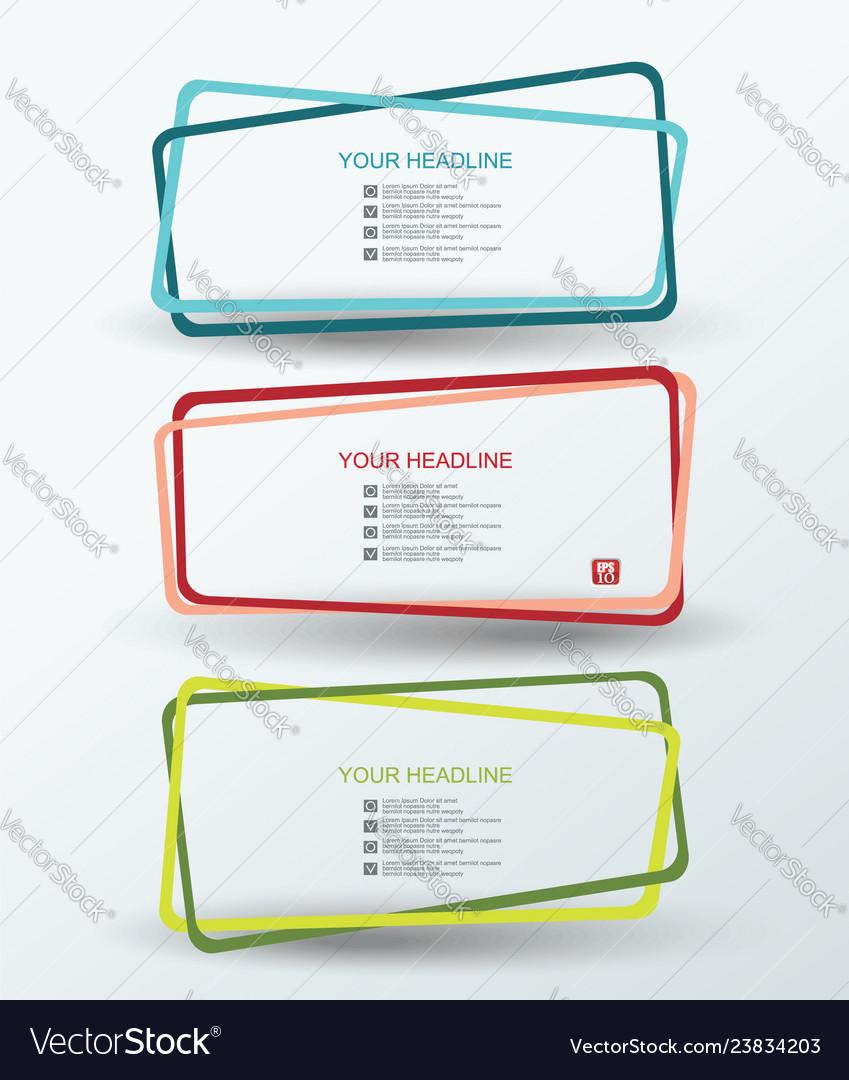 Color frames set