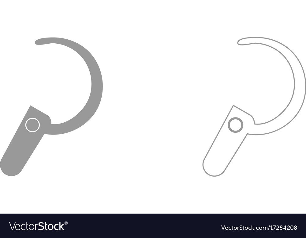 Headset it is icon