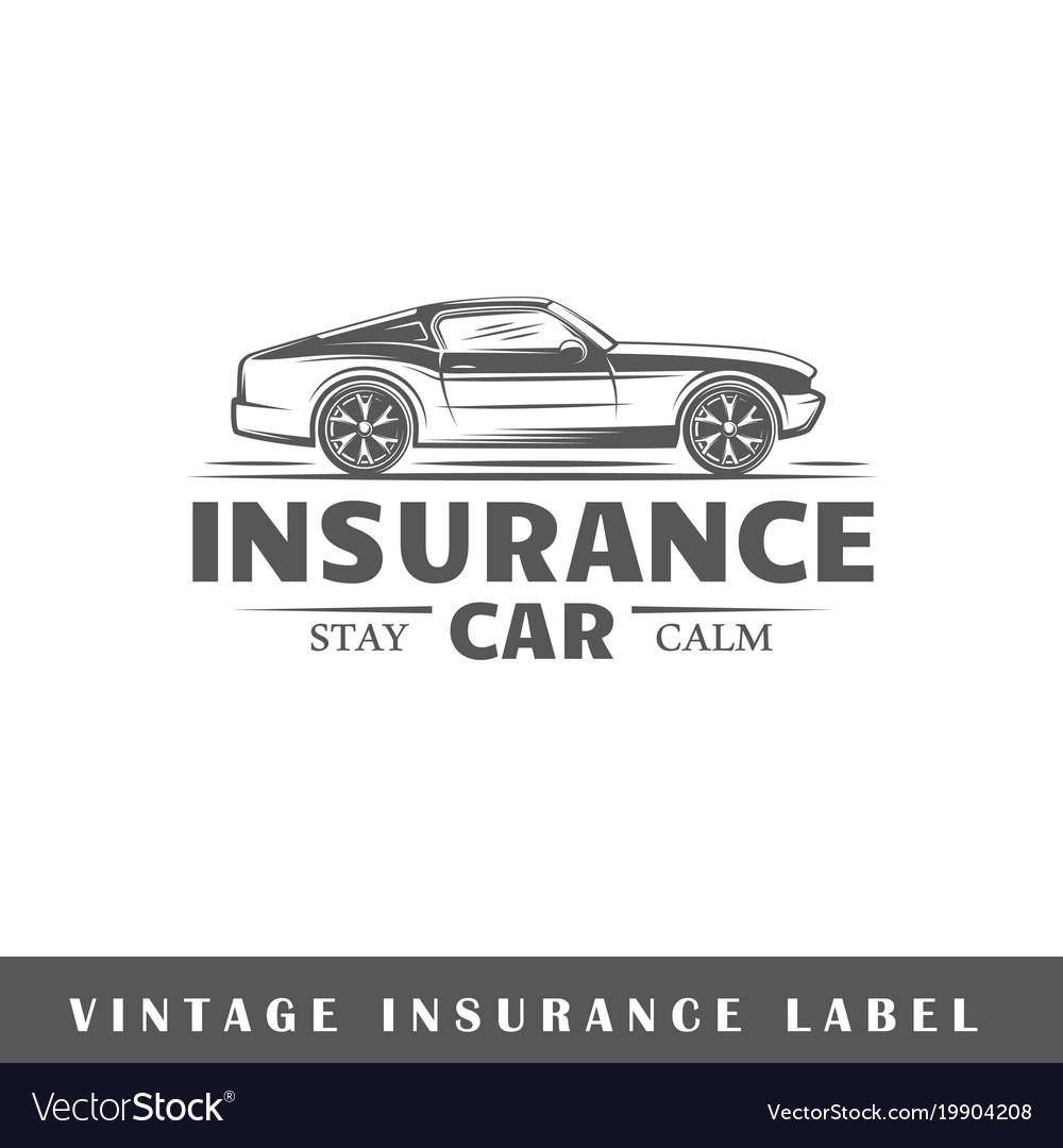 Insurance label