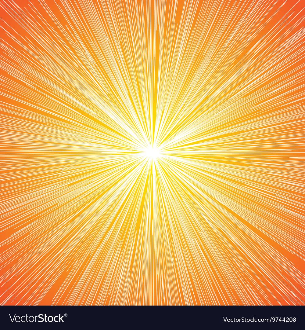 Sun Burst Blast Background