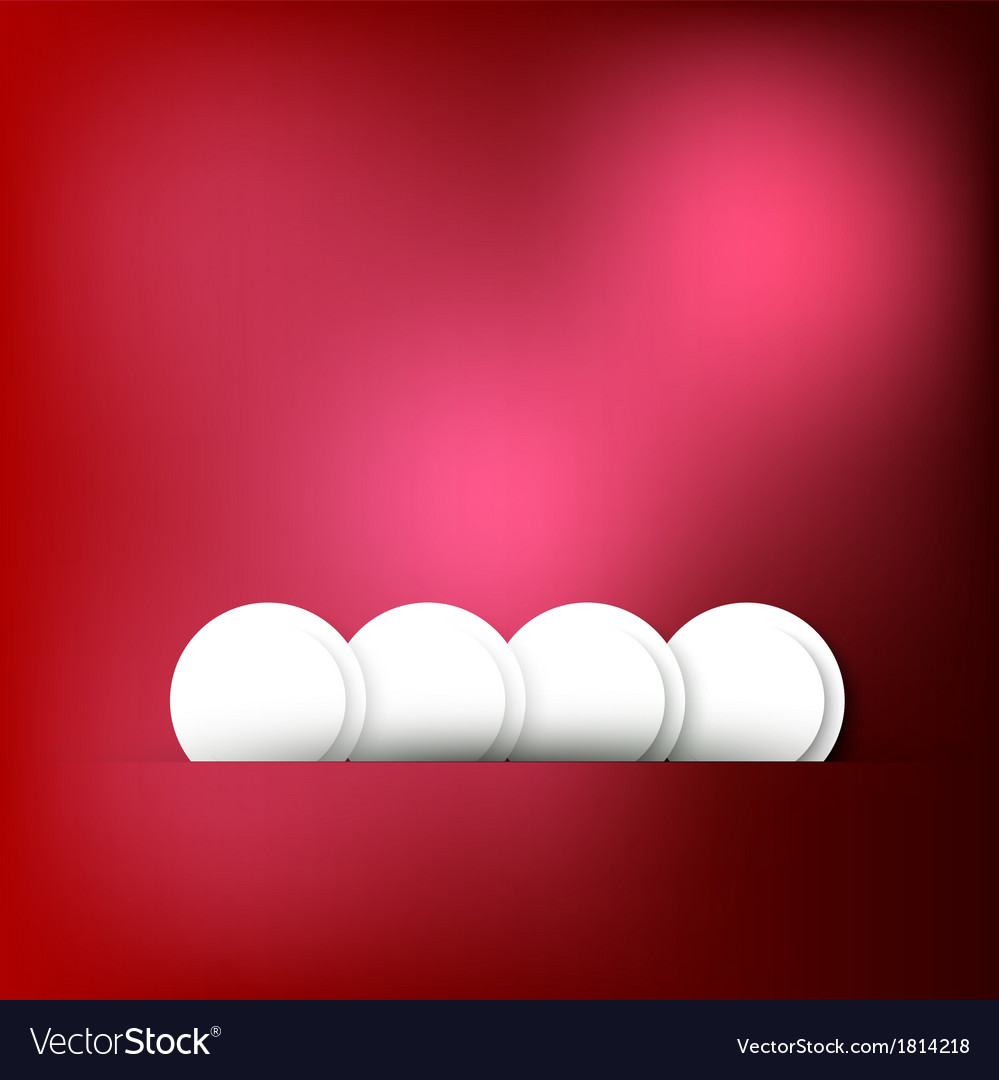 Abstract background Circle red and light