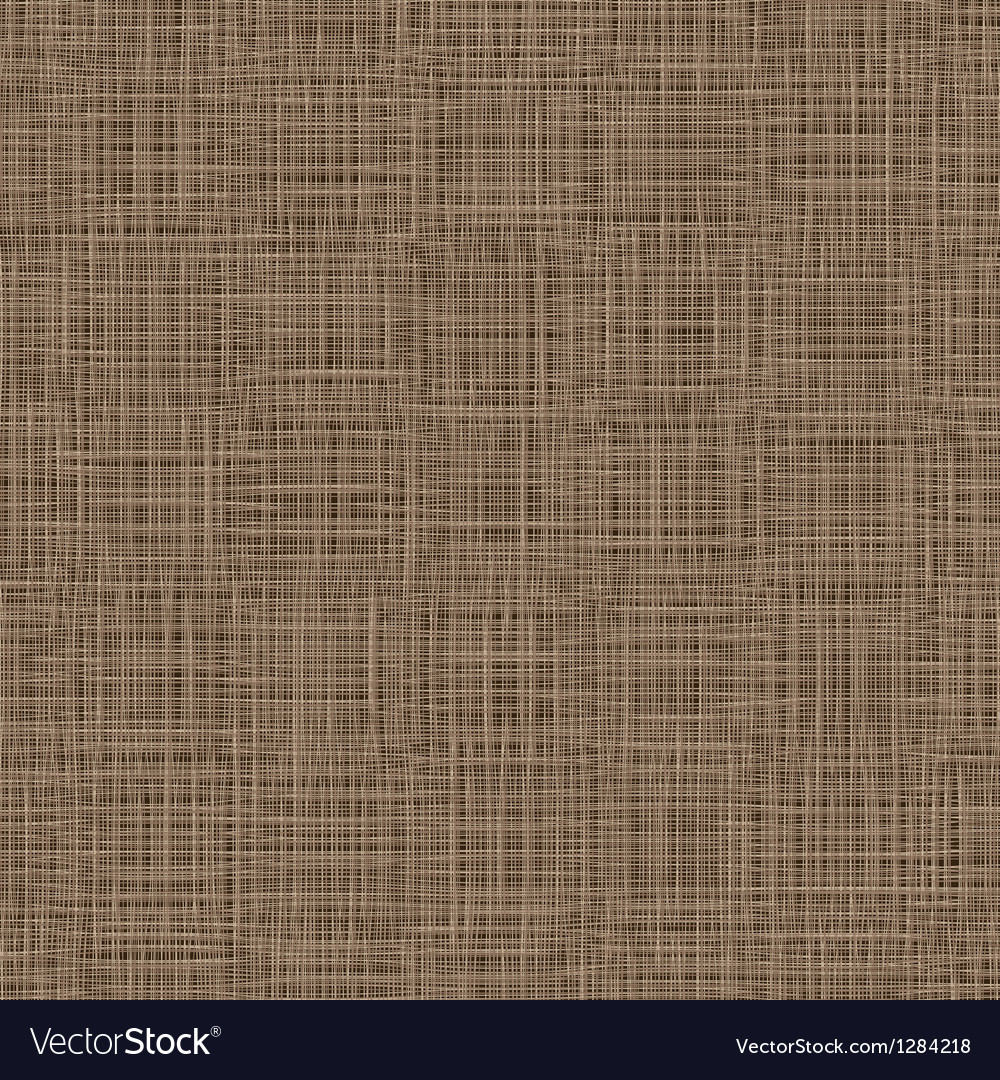 Natural Linen Background Woven Threads Texture vector image