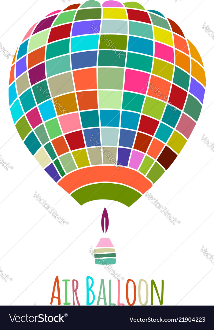Air balloon for your design