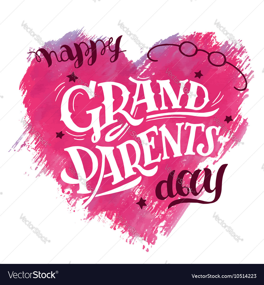 2019 year style- Grandparents Happy day