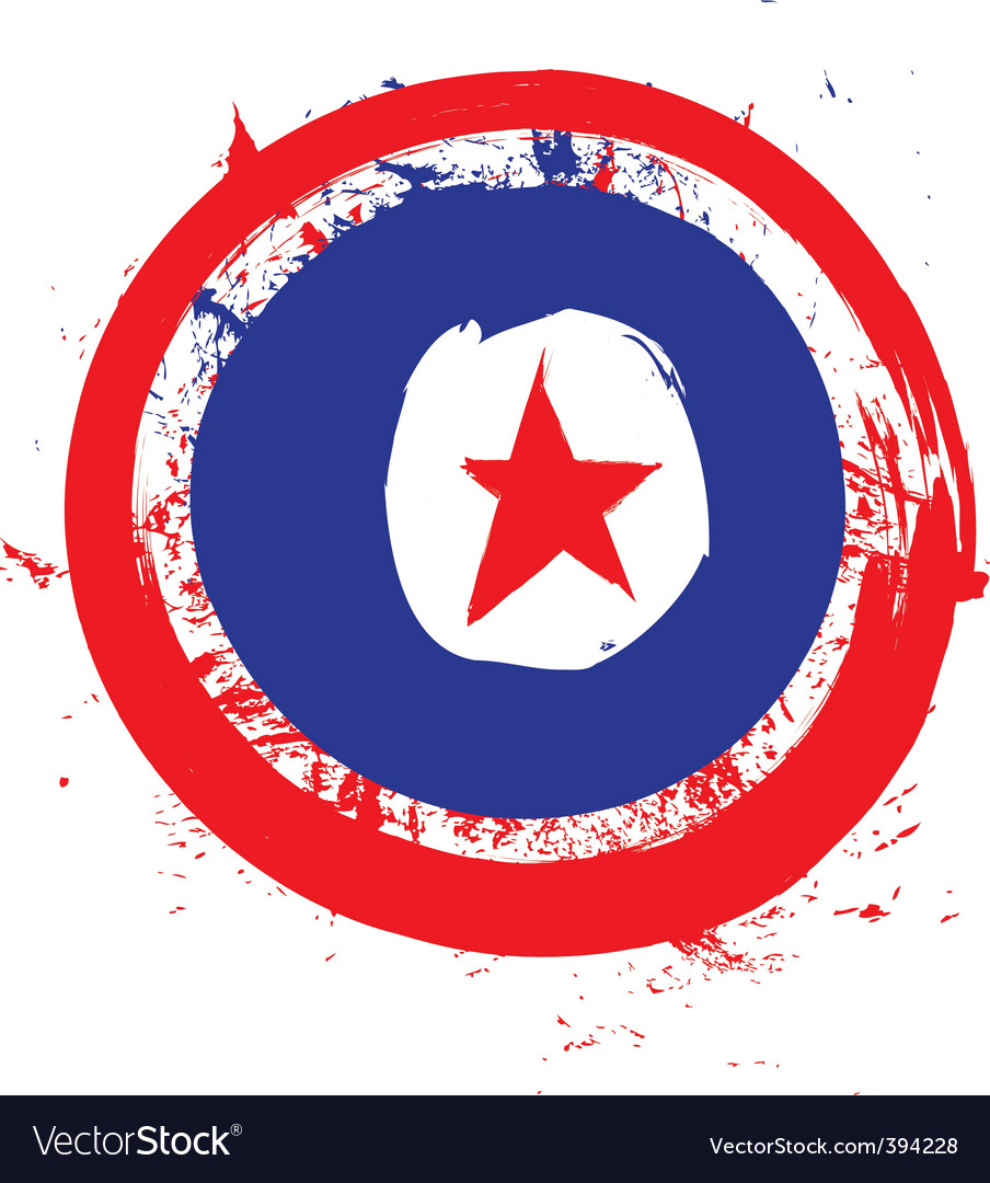 North Korea circle flag vector image