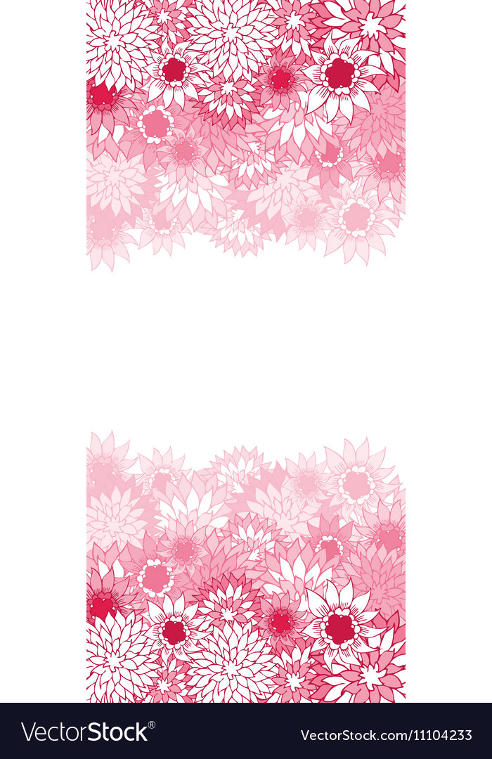 Beautiful color floral card