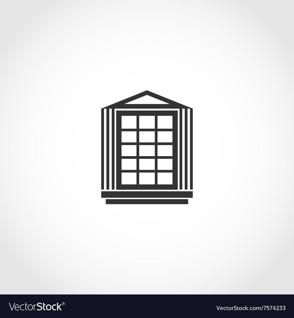 Vintage window icon