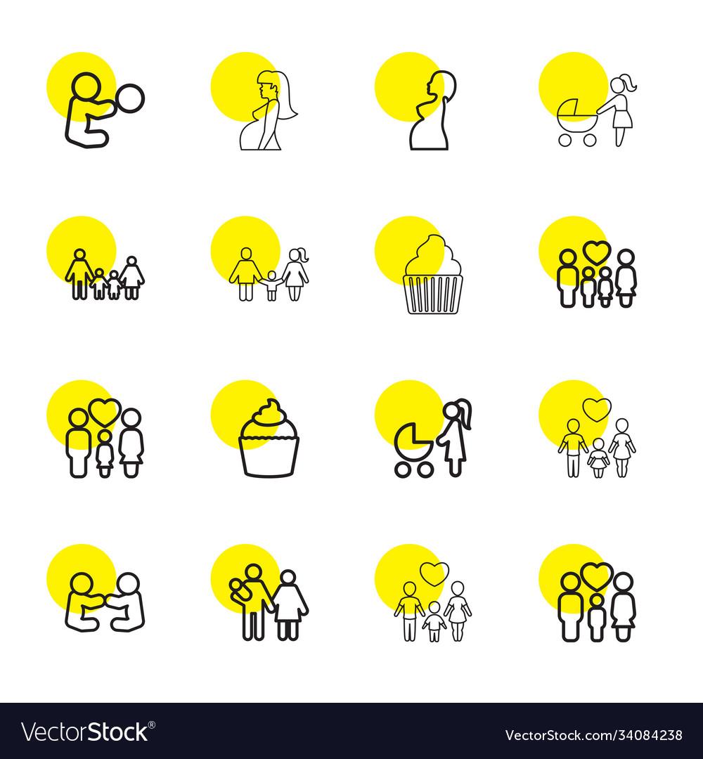16 mom icons