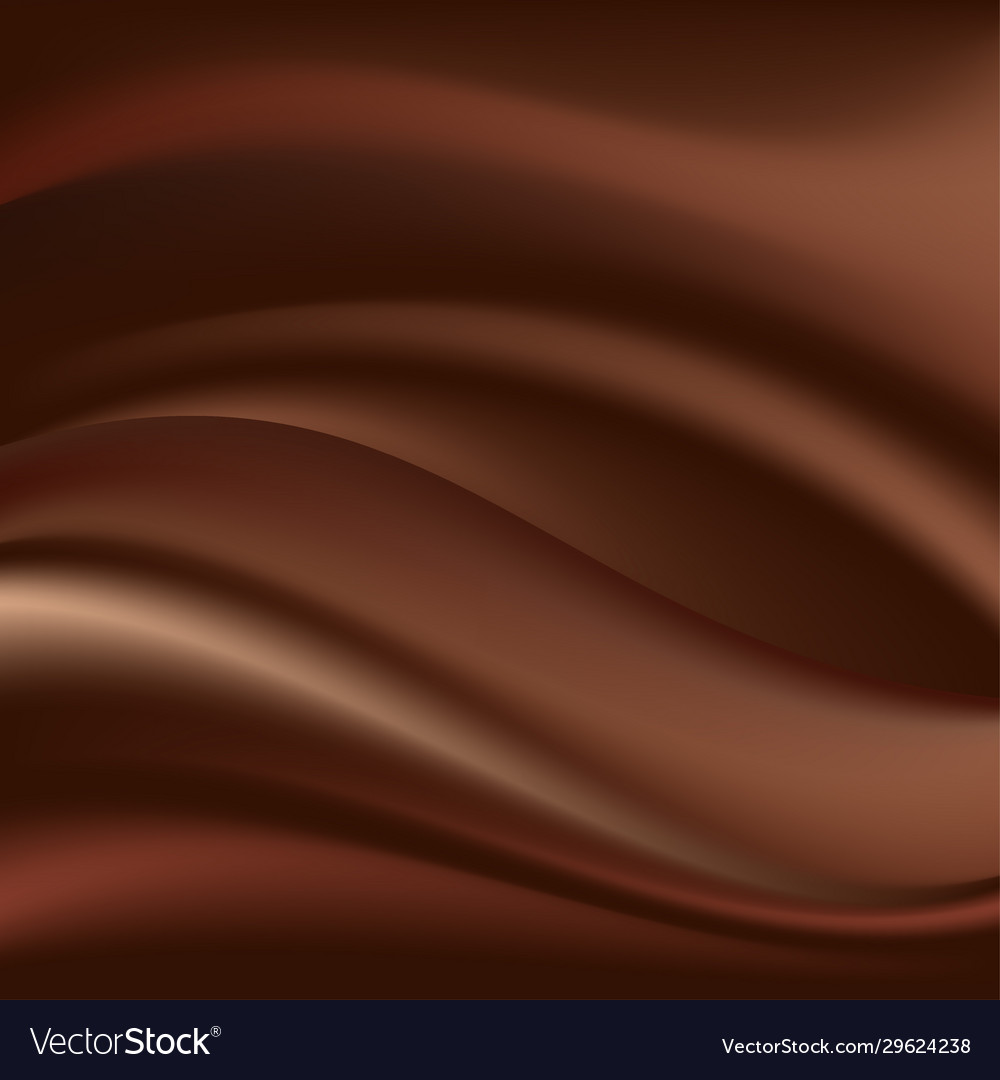 Chocolate wave abstract background