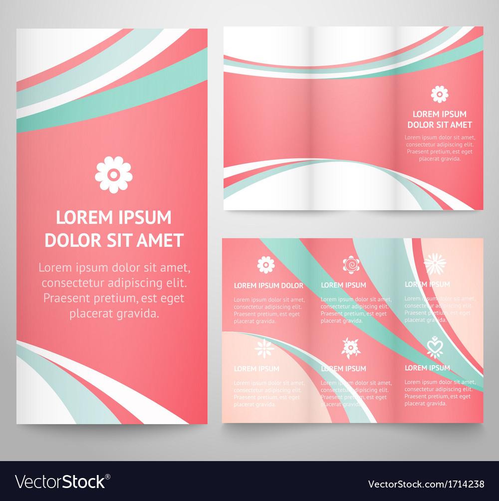 three fold leaflet template