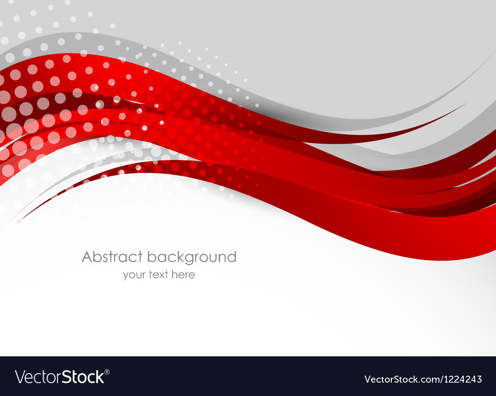 Abstract red background Royalty Free Vector Image