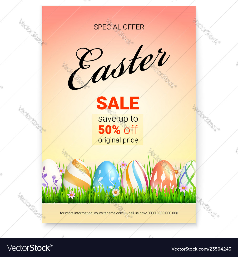 Easter sale save up to 50 percent of original