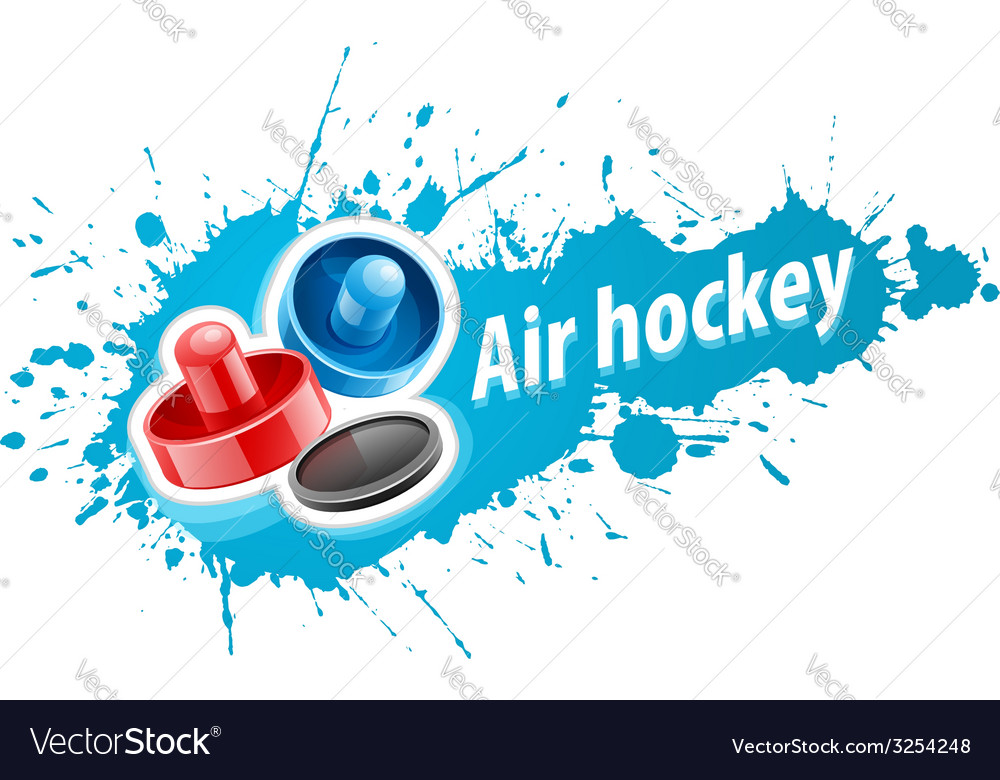 Mallets and puck for air