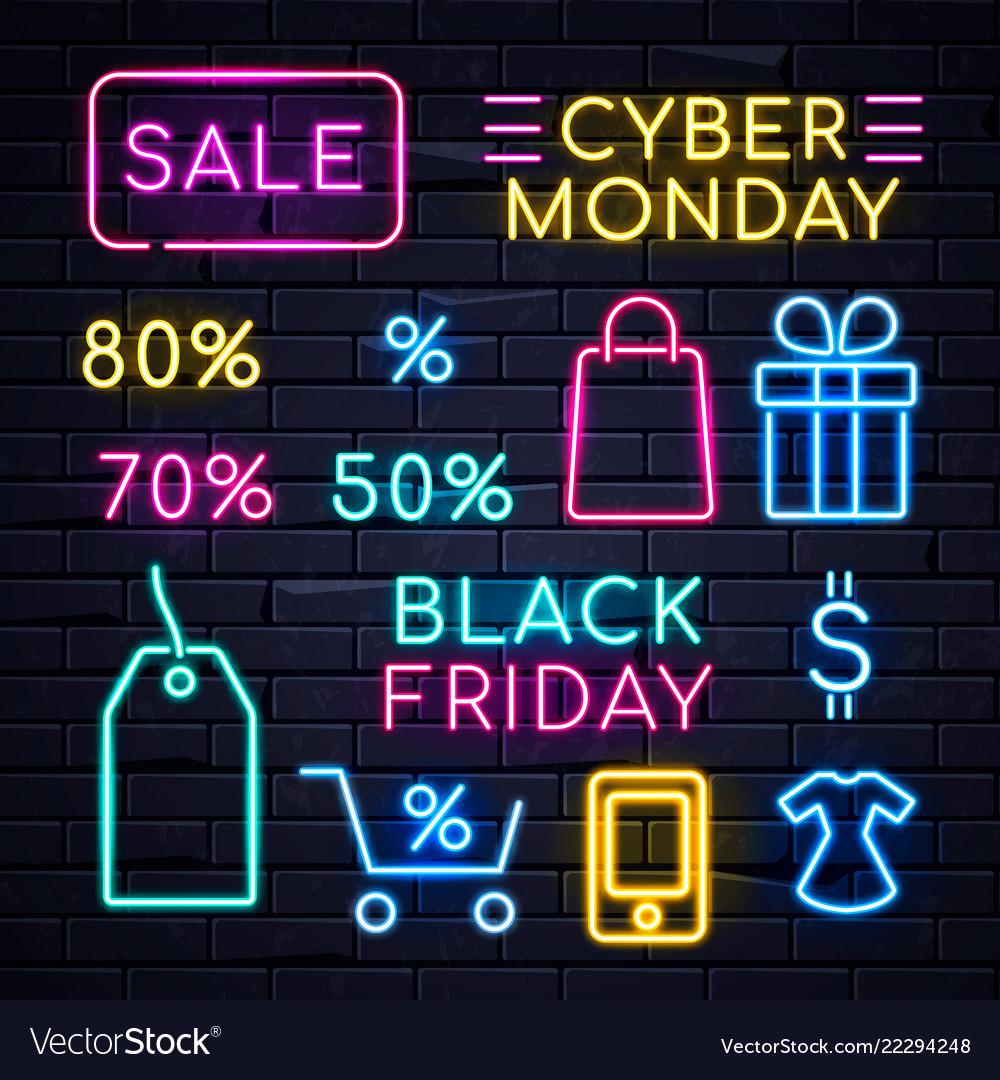 Neon sales sign 2